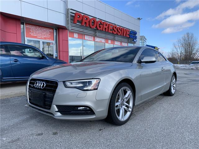 2013 Audi A5 2.0T (Stk: DA074757) in Sarnia - Image 1 of 12