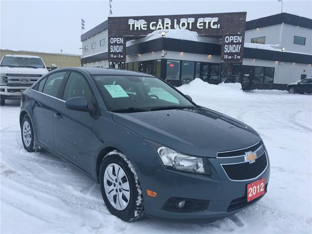 2012 Chevrolet Cruze LT Turbo (Stk: 19020-1) in Sudbury - Image 1 of 4