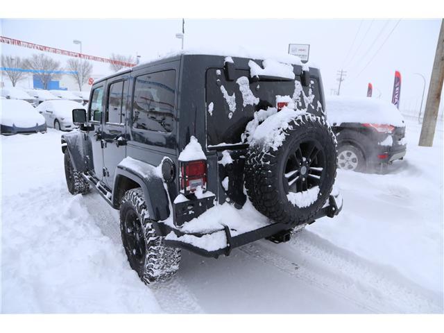 2017 Jeep Wrangler Unlimited Sahara (Stk: 169464) in Medicine Hat - Image 6 of 24