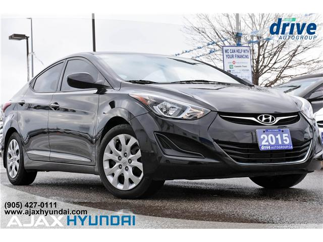 2015 Hyundai Elantra GL (Stk: P4654) in Ajax - Image 1 of 24