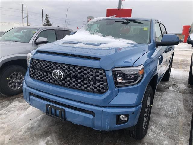 2019 Toyota Tundra TRD Sport Package (Stk: 9TN300) in Georgetown - Image 1 of 5