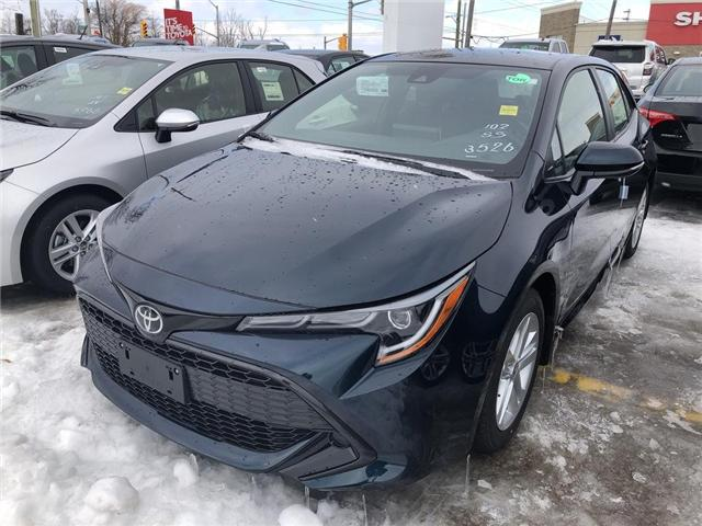 2019 Toyota Corolla Hatchback SE Package (Stk: 9CB316) in Georgetown - Image 1 of 5