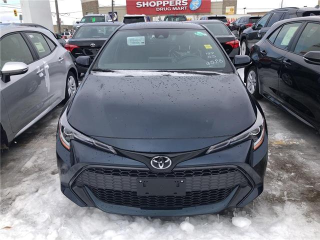 2019 Toyota Corolla Hatchback SE Package (Stk: 9CB316) in Georgetown - Image 2 of 5