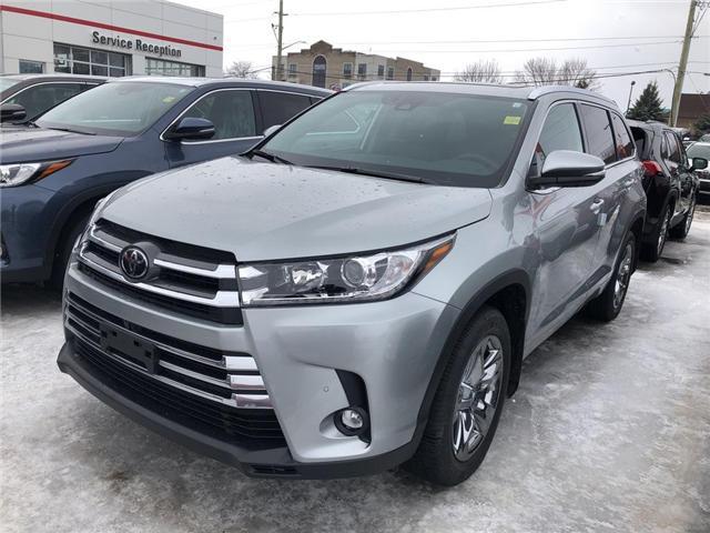 2019 Toyota Highlander Limited (Stk: 9HG284) in Georgetown - Image 1 of 5
