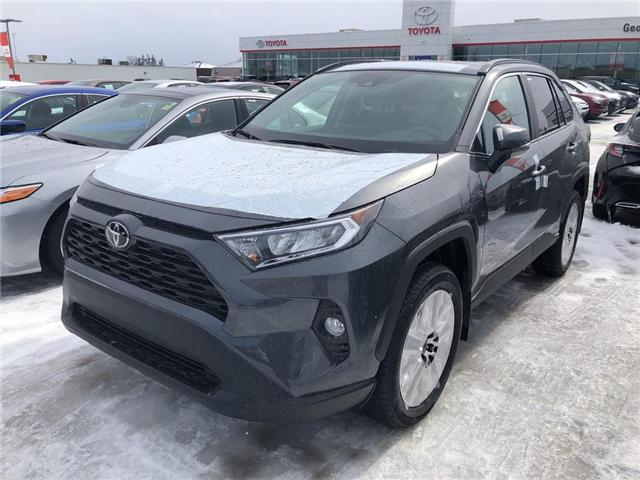 2019 Toyota RAV4 XLE (Stk: 9RV408) in Georgetown - Image 1 of 5