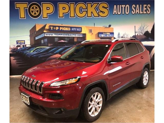 2015 Jeep Cherokee North (Stk: 637164) in NORTH BAY - Image 1 of 25