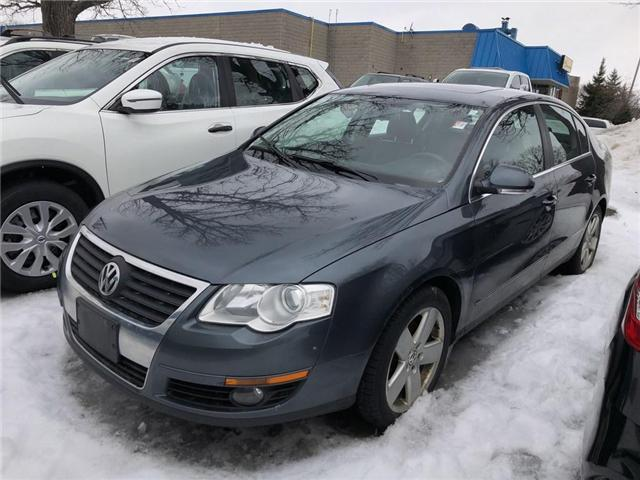 2010 Volkswagen Passat 2.0T - AS IS ONLY (Stk: N3723A) in Mississauga - Image 1 of 12