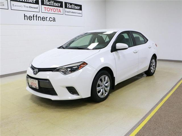 2015 Toyota Corolla LE (Stk: 195080) in Kitchener - Image 1 of 27
