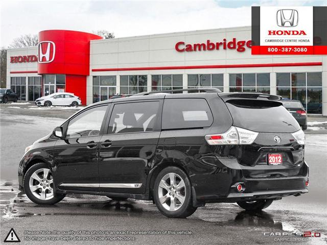 2012 Toyota Sienna LE 7 Passenger (Stk: 19436A) in Cambridge - Image 4 of 27