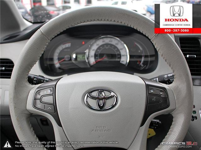 2012 Toyota Sienna LE 7 Passenger (Stk: 19436A) in Cambridge - Image 14 of 27