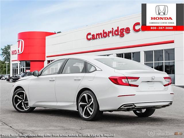 2019 Honda Accord Sport 2.0T (Stk: 19499) in Cambridge - Image 4 of 24