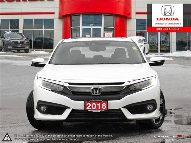 2016 Honda Civic Touring (Stk: 19349A) in Cambridge - Image 2 of 27