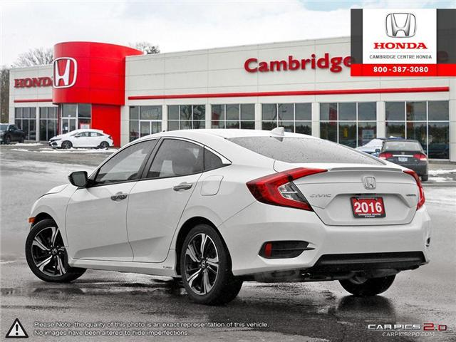 2016 Honda Civic Touring (Stk: 19349A) in Cambridge - Image 4 of 27