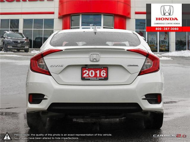 2016 Honda Civic Touring (Stk: 19349A) in Cambridge - Image 5 of 27