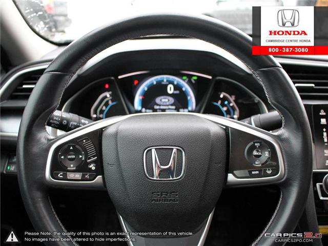 2016 Honda Civic Touring (Stk: 19349A) in Cambridge - Image 14 of 27