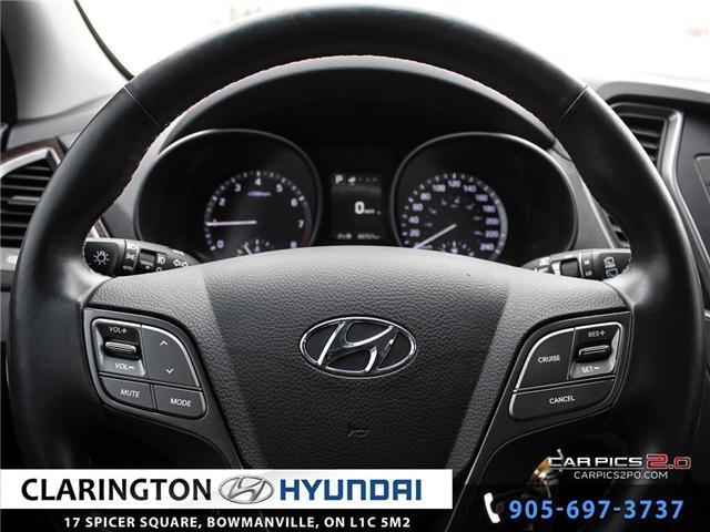 2017 Hyundai Santa Fe Sport 2.4 Premium (Stk: 18492A) in Clarington - Image 7 of 27