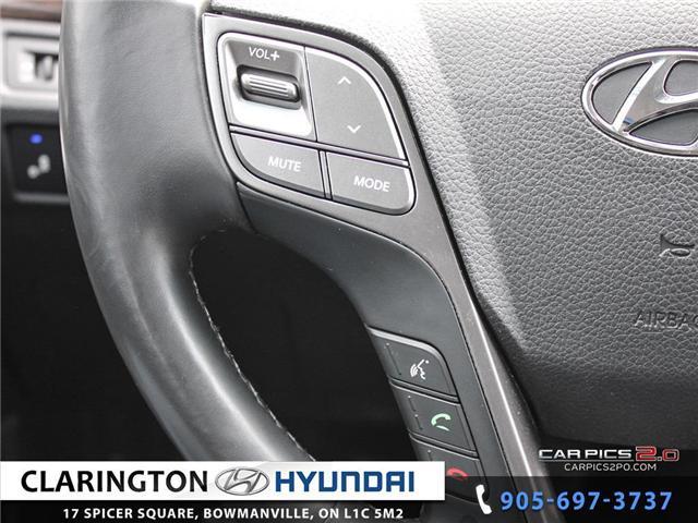 2017 Hyundai Santa Fe Sport 2.4 Premium (Stk: 18492A) in Clarington - Image 11 of 27