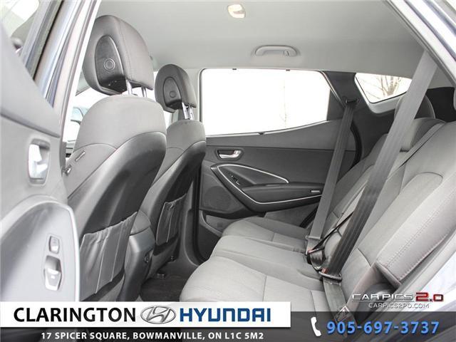 2017 Hyundai Santa Fe Sport 2.4 Premium (Stk: 18492A) in Clarington - Image 19 of 27
