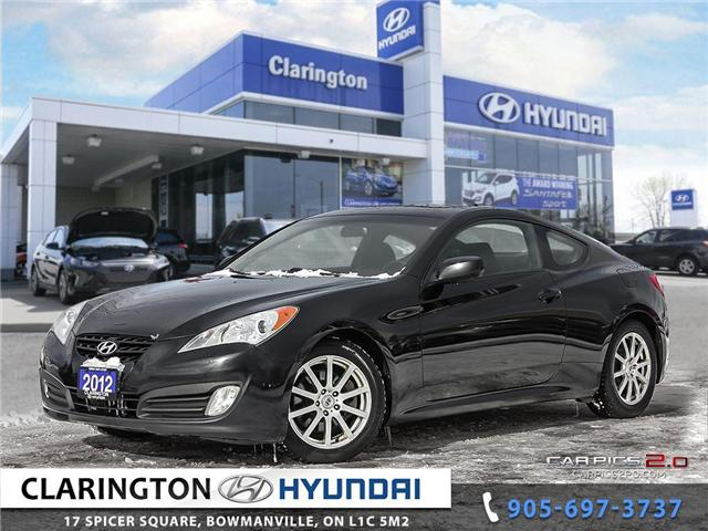 2012 Hyundai Genesis Coupe 2.0T Premium (Stk: 19059A) in Clarington - Image 1 of 27
