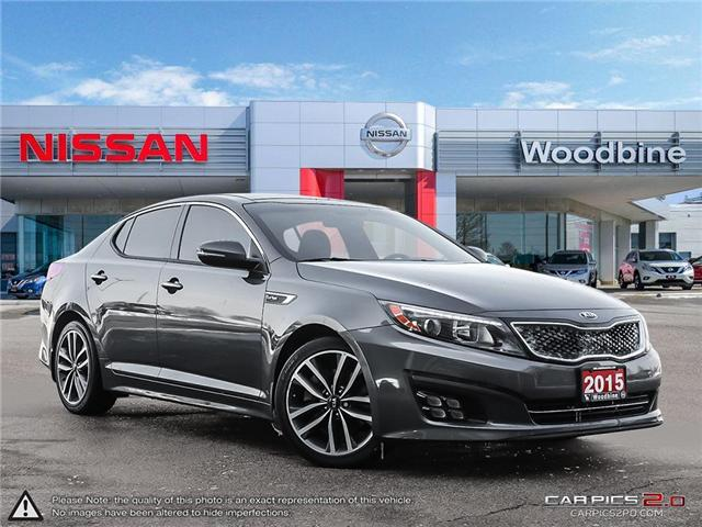 2015 Kia Optima SX Turbo (Stk: P7133A) in Etobicoke - Image 1 of 26