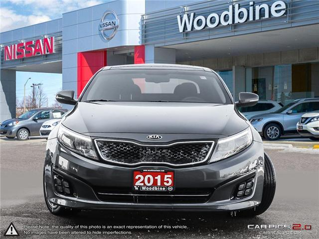2015 Kia Optima SX Turbo (Stk: P7133A) in Etobicoke - Image 2 of 26