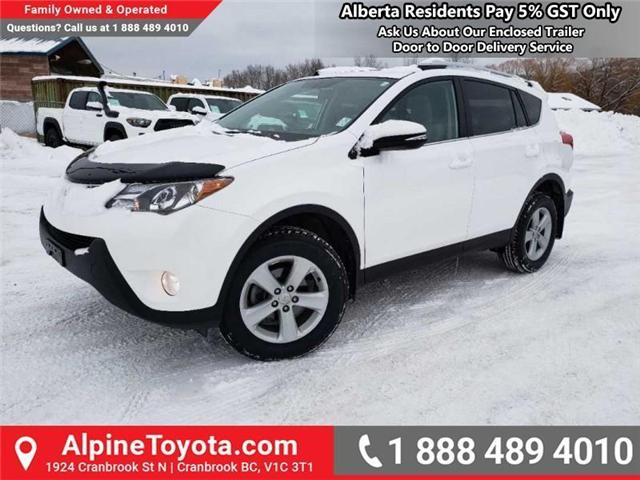 2014 Toyota RAV4 XLE (Stk: W013491A) in Cranbrook - Image 1 of 18