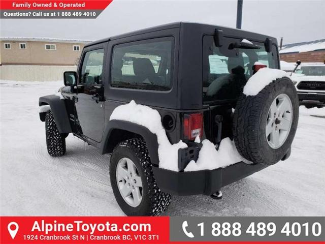 2011 Jeep Wrangler Sport (Stk: X149449A) in Cranbrook - Image 3 of 16