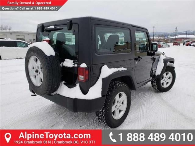 2011 Jeep Wrangler Sport (Stk: X149449A) in Cranbrook - Image 5 of 16
