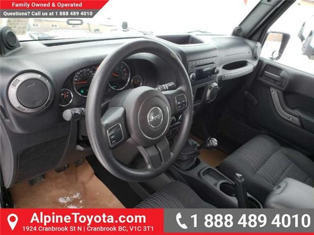 2011 Jeep Wrangler Sport (Stk: X149449A) in Cranbrook - Image 9 of 16
