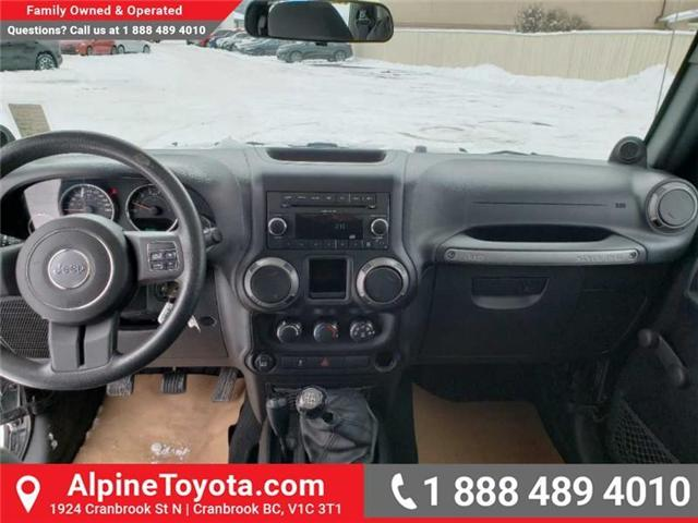 2011 Jeep Wrangler Sport (Stk: X149449A) in Cranbrook - Image 10 of 16