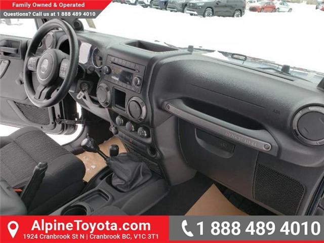 2011 Jeep Wrangler Sport (Stk: X149449A) in Cranbrook - Image 11 of 16
