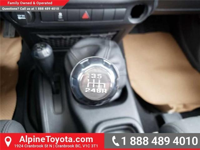 2011 Jeep Wrangler Sport (Stk: X149449A) in Cranbrook - Image 13 of 16