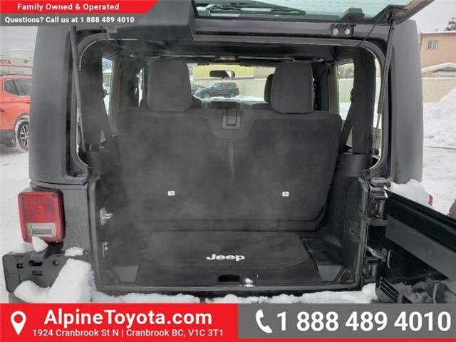 2011 Jeep Wrangler Sport (Stk: X149449A) in Cranbrook - Image 15 of 16