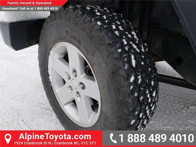 2011 Jeep Wrangler Sport (Stk: X149449A) in Cranbrook - Image 16 of 16