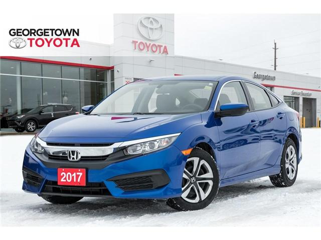 2017 Honda Civic LX (Stk: 17-10125) in Georgetown - Image 1 of 18