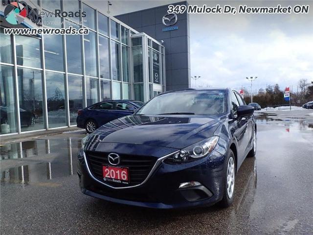 2016 Mazda Mazda3 GX (Stk: 14133) in Newmarket - Image 1 of 30
