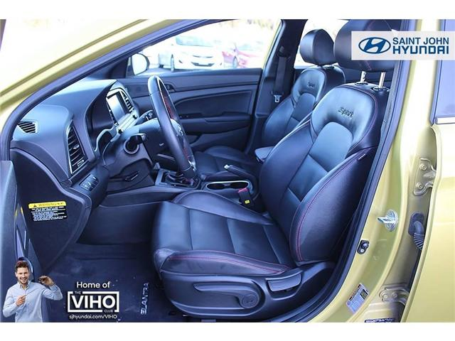 2018 Hyundai Elantra  (Stk: 97534A) in Saint John - Image 10 of 21