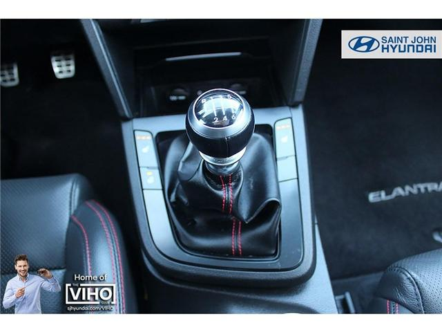 2018 Hyundai Elantra  (Stk: 97534A) in Saint John - Image 17 of 21