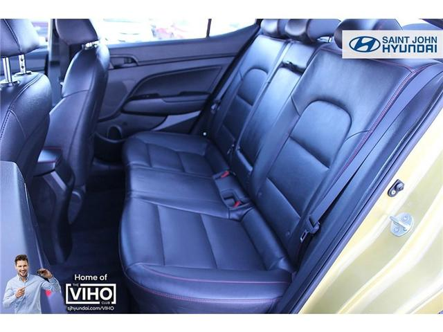 2018 Hyundai Elantra  (Stk: 97534A) in Saint John - Image 18 of 21