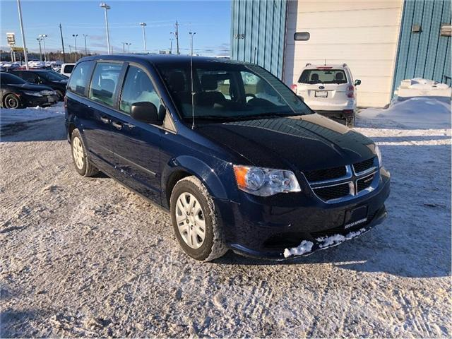 2016 Dodge Grand Caravan SE/SXT (Stk: 3655) in Thunder Bay - Image 1 of 12