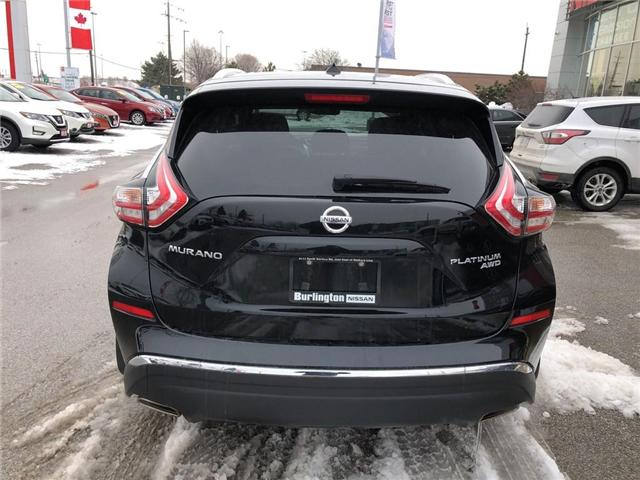 2016 Nissan Murano Platinum (Stk: X8786A) in Burlington - Image 4 of 22