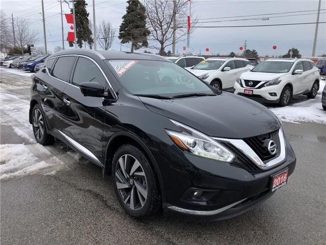2016 Nissan Murano Platinum (Stk: X8786A) in Burlington - Image 7 of 22