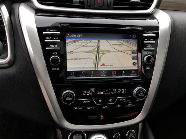 2016 Nissan Murano Platinum (Stk: X8786A) in Burlington - Image 20 of 22
