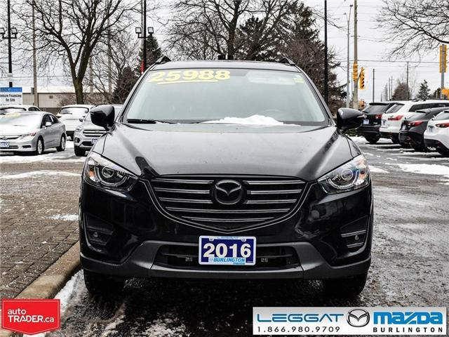 2016 Mazda CX-5 GT LEATHER, NAV, BOSE, MOON ROOF, LED LIGHTS (Stk: 1763) in Burlington - Image 2 of 22
