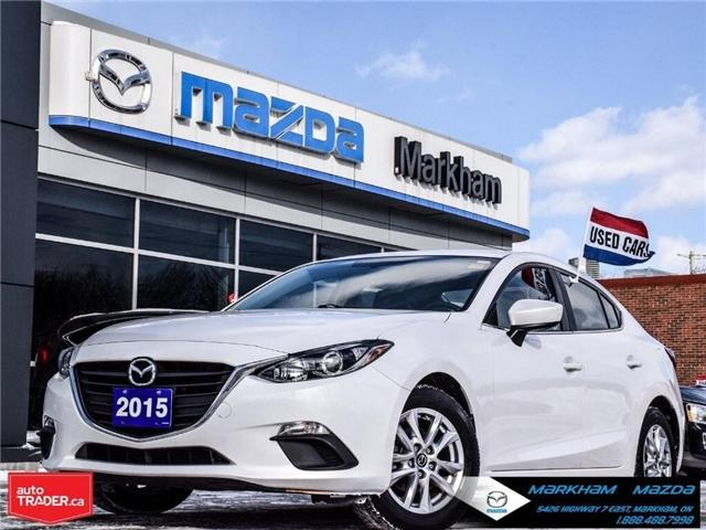 2015 Mazda Mazda3 GS (Stk: P1850) in Markham - Image 1 of 27