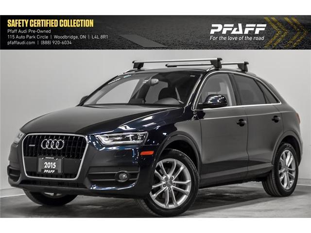 2015 Audi Q3 2.0T Technik (Stk: C6561) in Woodbridge - Image 1 of 22