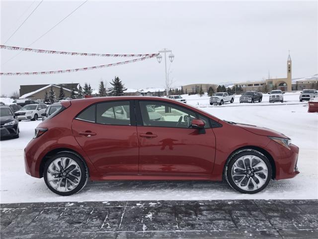 2019 Toyota Corolla Hatchback SE Upgrade Package (Stk: 190155) in Cochrane - Image 4 of 22
