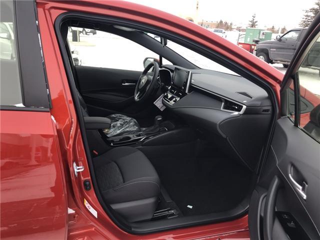 2019 Toyota Corolla Hatchback SE Upgrade Package (Stk: 190155) in Cochrane - Image 10 of 22