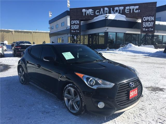 2013 Hyundai Veloster Turbo (Stk: 18613-1) in Sudbury - Image 1 of 18