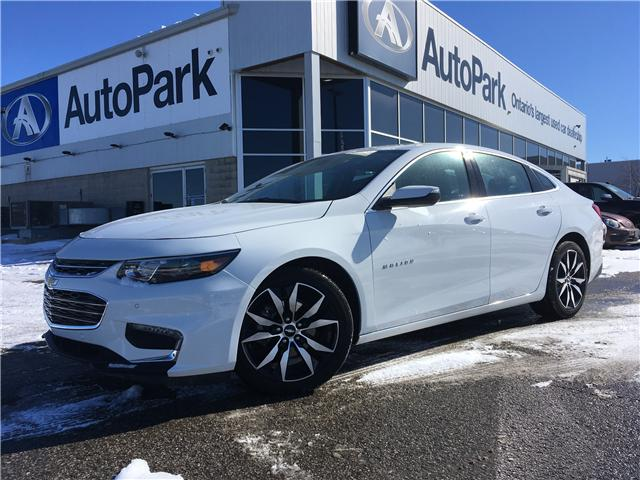 2018 Chevrolet Malibu LT (Stk: 18-57693RMB) in Barrie - Image 1 of 29